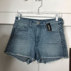 Express jean shorts women's 4